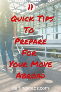 tips for move abroad