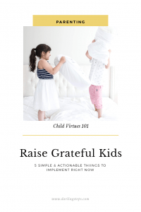 raise grateful kids