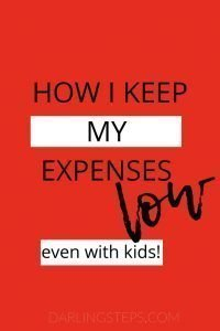save money with kids