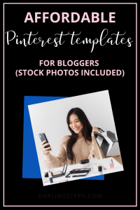 canva pinterest templates bloggers
