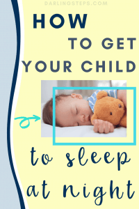 How to get your child to sleep through the night 2