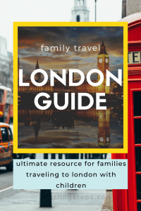 ultimate family guide to london