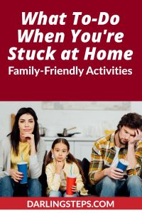 family friendly activities at home
