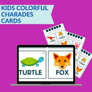 kids charades cards