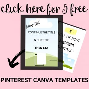canva pinterest templates