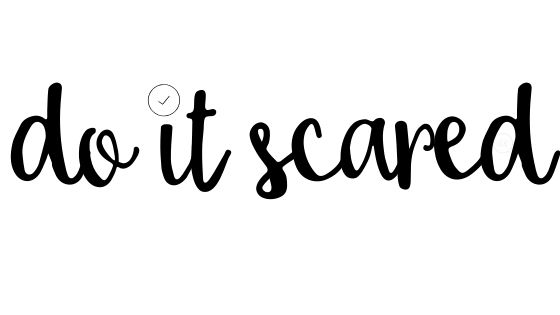 text reads do it scared