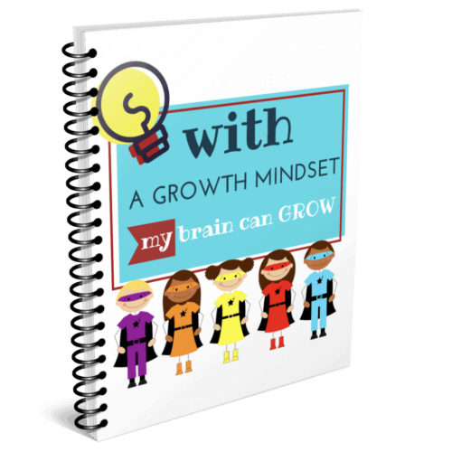 growth mindset workbook colouring book for kids